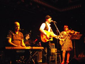 Photo of Norman Lamont and band at Dylan Uncovered tribute gig