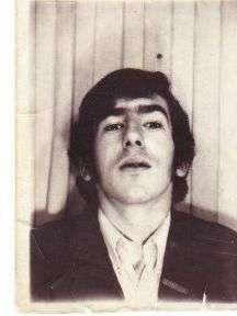 My passport photo aged 16