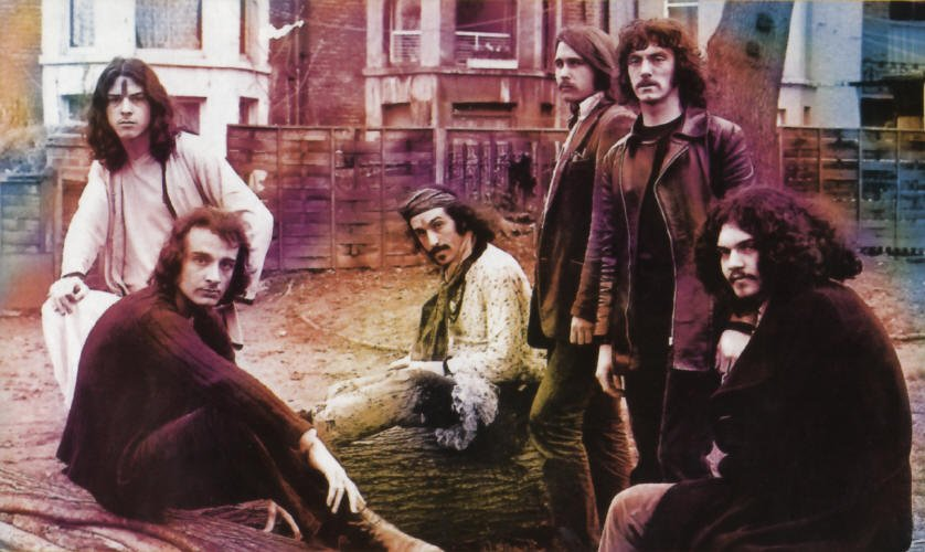 Photo of the band Quintessence in 1970