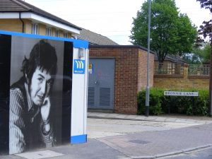 Ronnie Lane in Manor Park