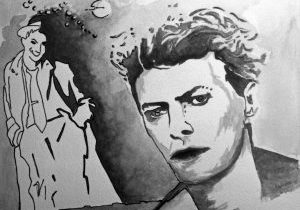 David Bowie by Scapin